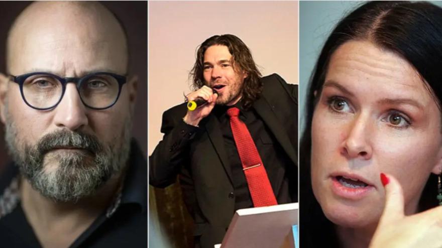 Åsa Waldau döms för åtta fall av misshandel SVT Nyheter